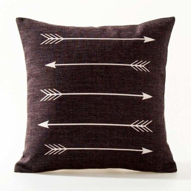 Nordic Geometric Decorative Pillowcase Size: 45CM WT0042 Color: 7
