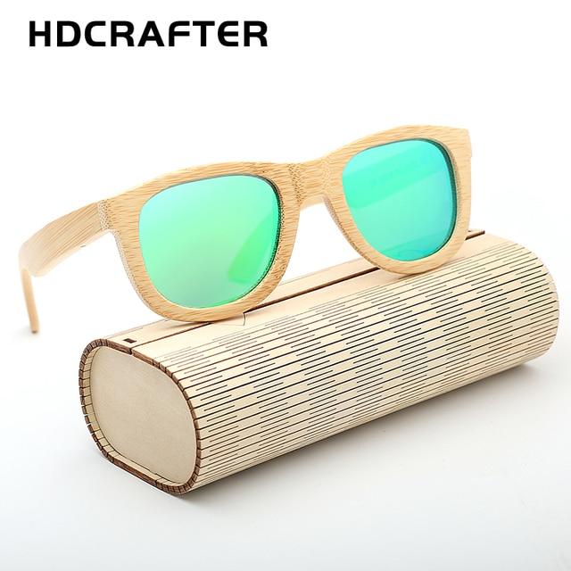Wood Sunglasses 100% Bamboo Handmade Eyewear with Case