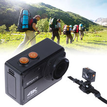 Новые спортивные камеры Ультра HD Водонепроницаемый действия беспроводной приложение операционной ДВ 4К 30 кадров в секунду камера горячая
