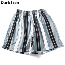 Dark Icon Striped Shorts Men 2019 Summer Vacation Bech for Casual Mens