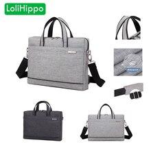 LoliHippo Universal Business Laptop Shoulder Bag Notebook Multifunctional Briefcase for font b Apple b font font