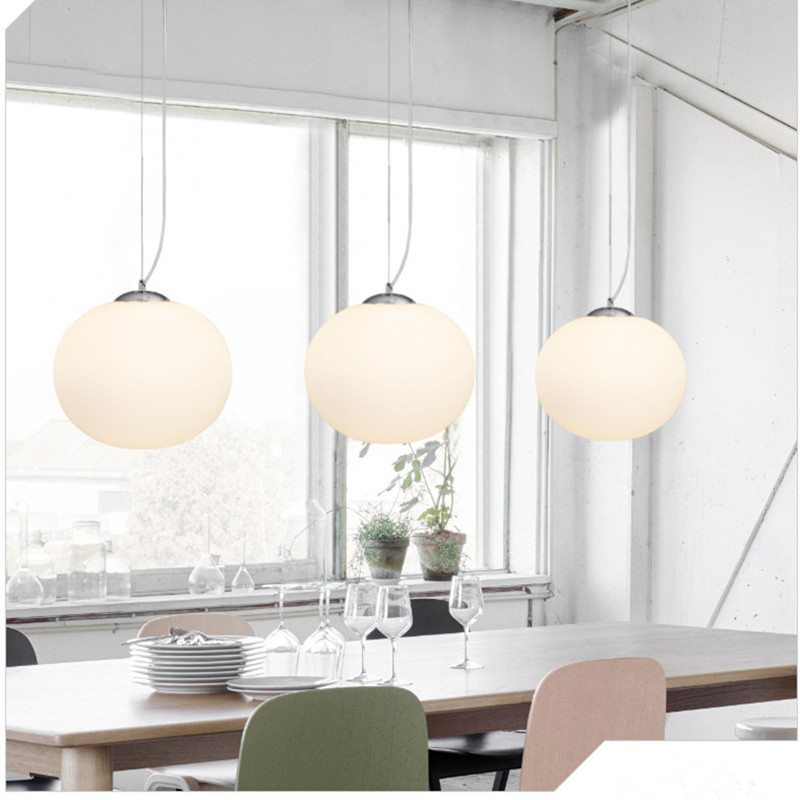 Modern Pendant Light Globe Round Hanging Lamp Kitchen