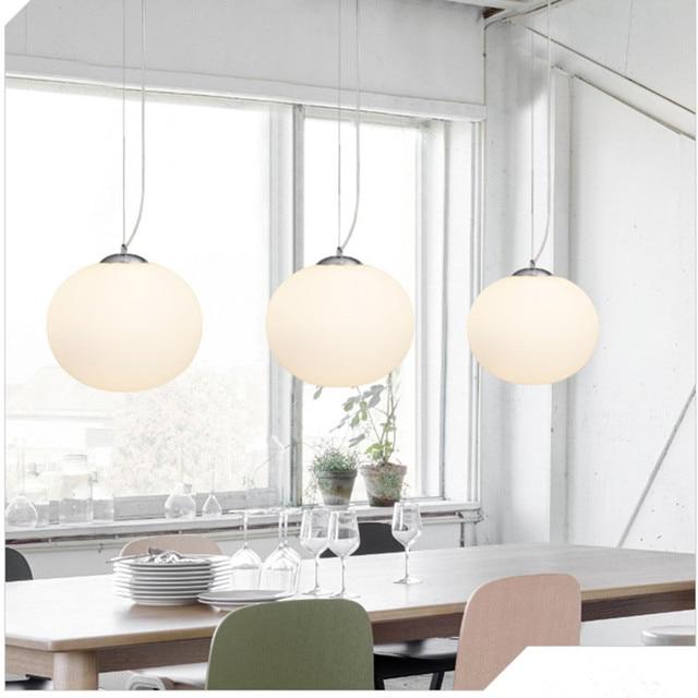 Moderna lampada a Sospensione Globo Rotondo Lampada A Sospensione ...