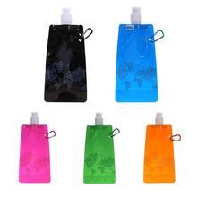 0.5L портативная складная бутылка для воды Водонепроницаемый рюкзак для активного отдыха спортивные принадлежности бутылка сумка оборудование для кемпинга на открытом воздухе Инструменты