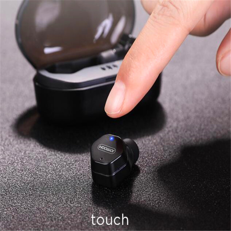 True Touch TWS Earbuds Wireless Micro Bluetooth Earphone Headset Twins Active Anti Noise Mini Hidden Earplugs for a Mobile Phone