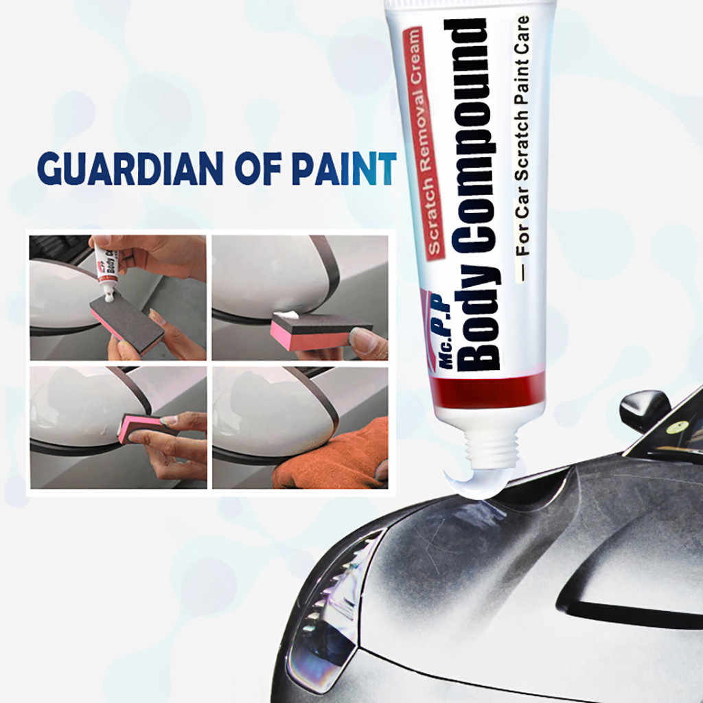 Hot Sale 35g Car Scratch Paint Care Body Polishing Scratching Paste Repair Agent+Sponge Auto Supply Grinding Polishing Paste NEW