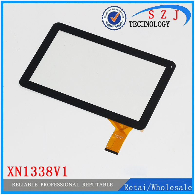 New 10.1'' inch Touch Screen Digitizer Panel glass Sensor Replacement for Tablet XN1338V1 Free Shipping 10pcs/lot black new for 5 qumo quest 510 touch screen digitizer panel sensor lens glass replacement free shipping