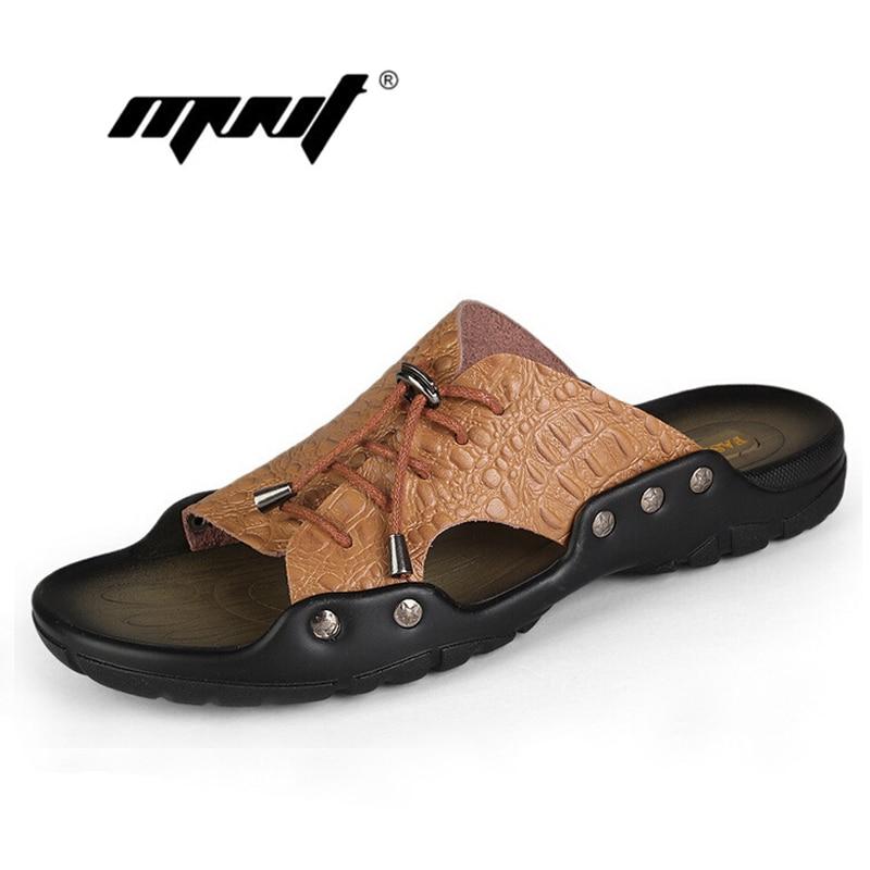 sandali в pelle ди coccodrillo