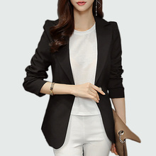 Long Sleeve Office Lady Blazer