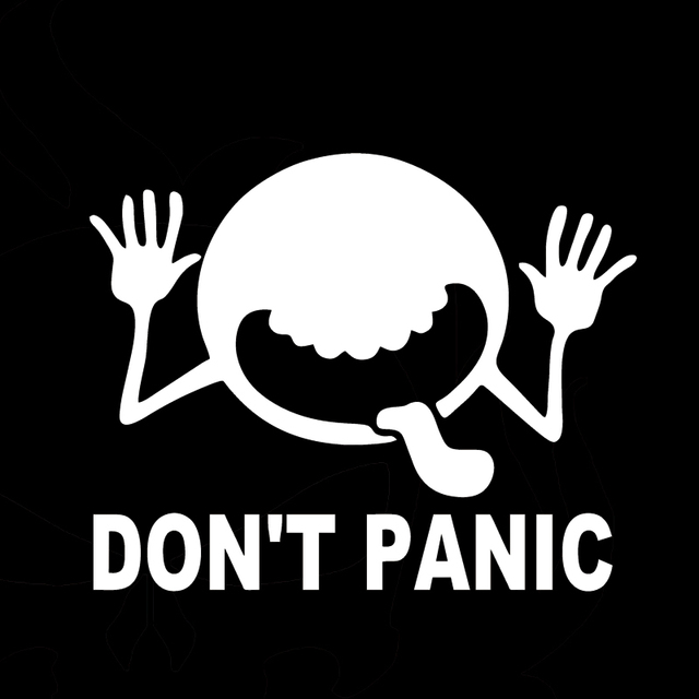Vinyl Decal Sticker Hitchhikers Guide Dont Panic Car Truck Jdm - A basic guide to vinyl graphics