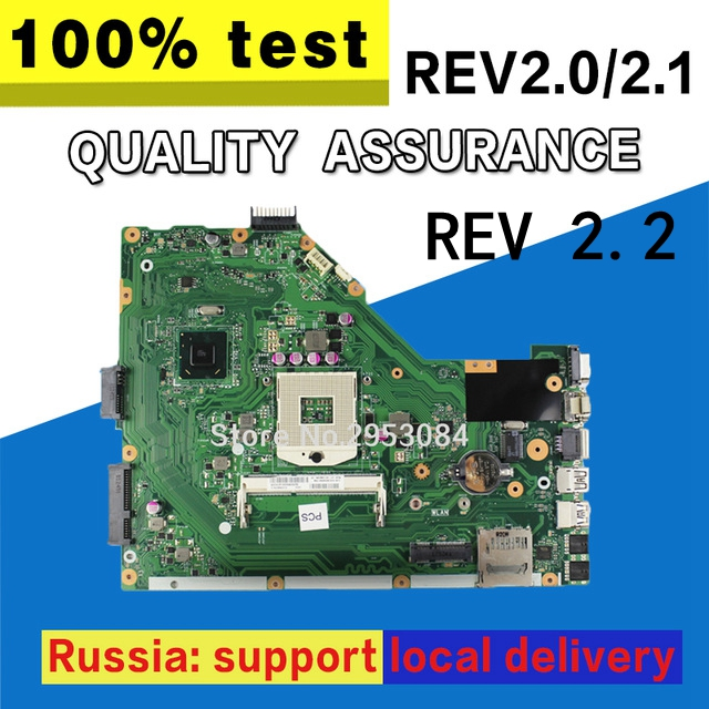 original X55A for ASUS laptop motherboard X55A REV2.2 /2.1/2.0 HM70 PGA 989 SJTNV tested Ok kefu x55a for asus x55a laptop motherboard asus x55a mainboard sjtnv rev 2 2 rev2 1 integrated 100% tested new motherboard