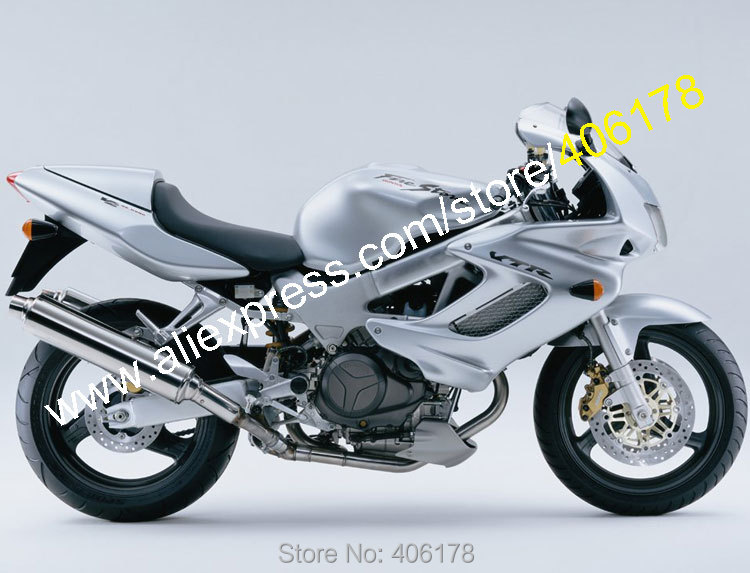 Hot Sales,Cheap Fairing for Honda VTR1000F 1997-2005 97 98 99 00 01 02 03 04 05 VTR 1000F 97-05 All Silver ABS fairings рычаги тросики и кабели для мотоцикла rctoper honda vtr1000f firestorm 98 99 00 01 02 03 04 05