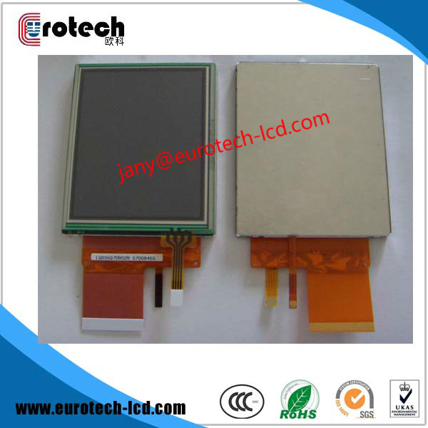 Absolutely original new 3.5 inch LQ035Q7DB02/R lcd display for Topcon Total Station GPT-7500 new original 7 inch for fe375cg k019
