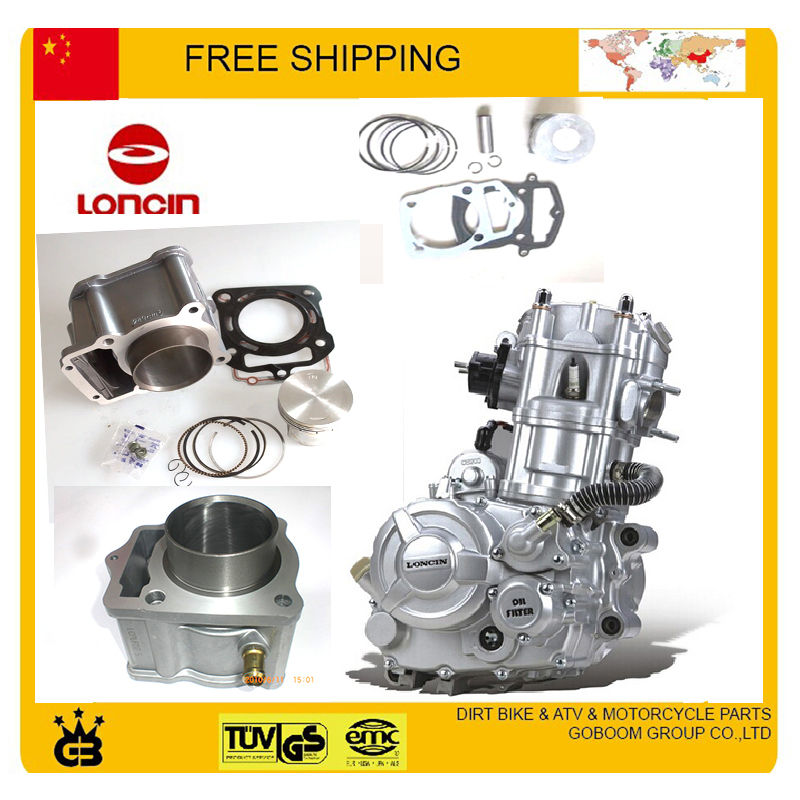 LONCIN 250CC water-cooled engine CB250 cylinder assy cylinder block assembly 70mm cylinder piston ring pin full set цена