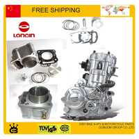 LONCIN 250CC water cooled engine CB250 cylinder assy cylinder block assembly 70mm cylinder piston ring pin full set