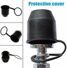 Горячий черный фаркоп шаровая крышка автомобиля буксировочное сцепное устройство буксировочный прицеп Защитная крышка BX