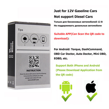 Elm327 Wi-fi OBD2 V1 5 Diagnostic Car Auto Scanner With Best Chip Elm 327  Wifi OBD Suitable For IOS Android/iPhone Windows