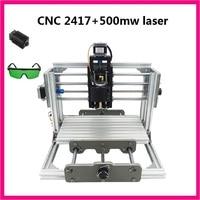 CNC 2417 500mw Laser Grbl Control Diy Cnc Engraving Machine Mini Pcb Pvc Milling Machine Metal