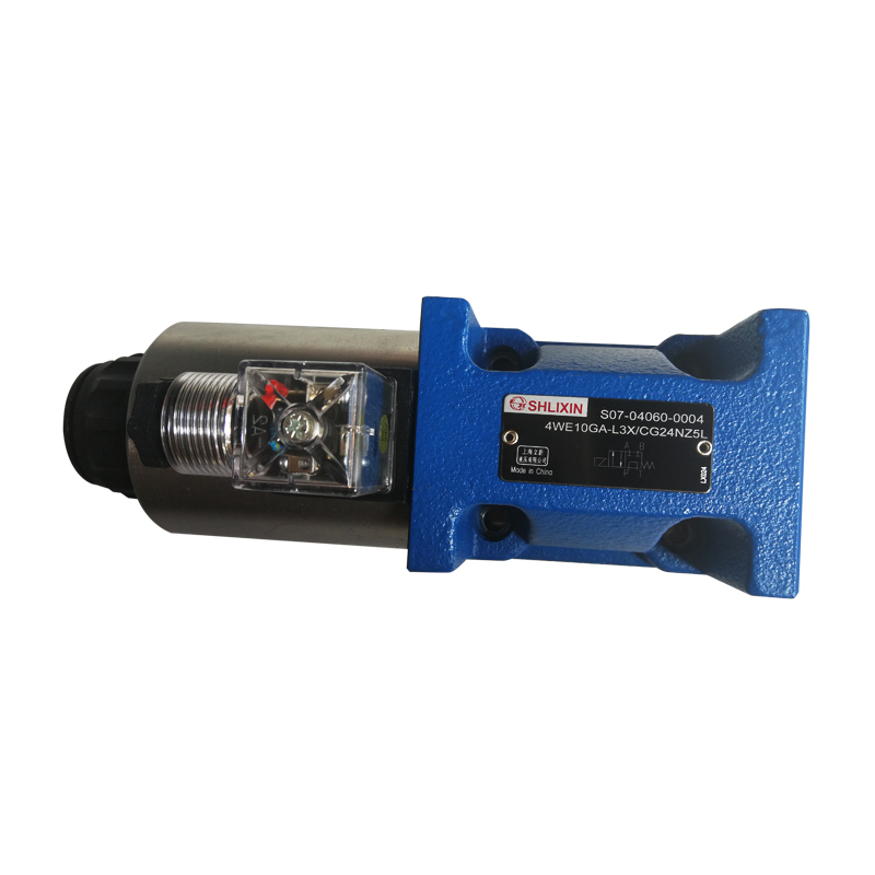 Shlixin High Pressure Solenoid Valve Directional Valve 4we10ga-L3X/Cg24nz5l Hydraulic Valve high quality hydraulic valve 4weh16d 6x 6aw220netz5