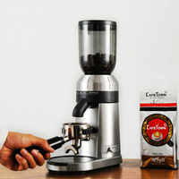 Welhome ZD-15 Grinder electric Italian Coffee grinder Commercial Automatic mill