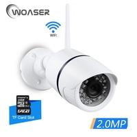 WOASER 2 0MP WIFI IP Camera Waterproof HD 1080P Network Wifi Camera Day Nignt Vision Outdoor