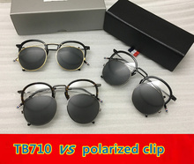 Thom TB710 New York Eyeglasses Frames for men and women Optical Spectacles glasses with clip and