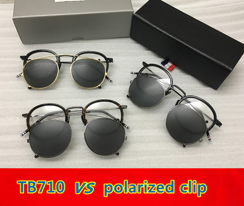 Thom TB710 New York Eyeglasses Frames for men and women Optical Spectacles glasses with clip and Original box Oculos Oliver
