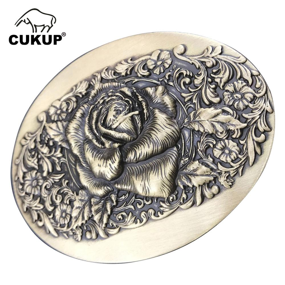 CUKUP New Unique Design Animals Pattern Solid Copper Belt Buckles Many Models Choice Western Cowboy Brass Metal For Men BRK039
