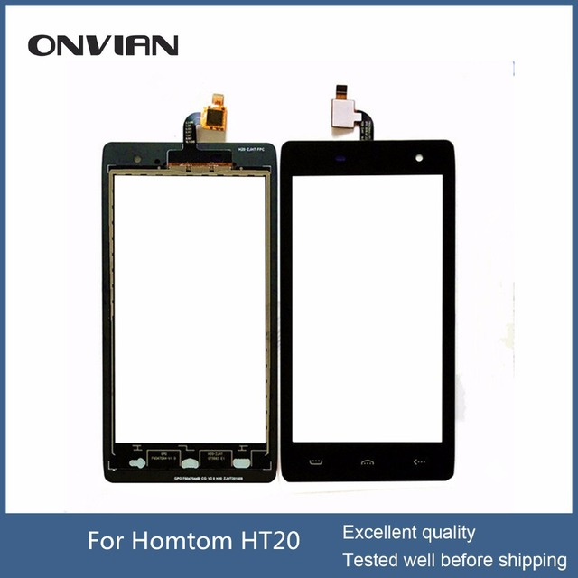 HOMTOM HT20 LCD Display Touch Screen Digitizer with no Frame Assembly 100% Original New LCD Touch Digitizer for HT20