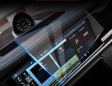 Автомобильное закаленное Стекло Радио DVD gps ЖК-дисплей Gurad Экран фильм Стикеры защитный для Porsche Cayenne 911 Macan Panamera