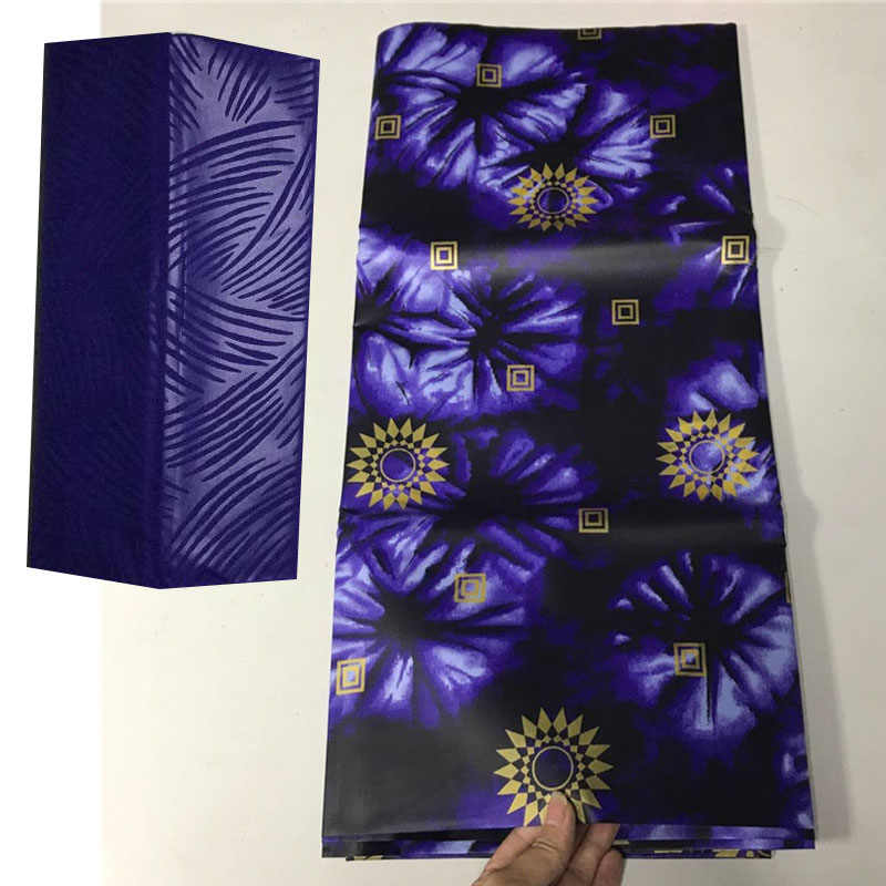 bazin riche getzner african wax print fabric royal blue lace fabric guinea brocade fabric bazin brode getzner 5+2yard/lot 5808-