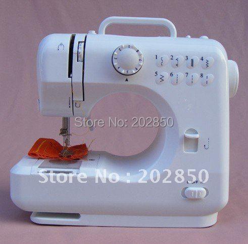 Máquina de coser doméstica, con Pedal y adaptador, 100 V 240 V, 7,2 W, 1 año de garantía de calidad + soporte técnico de toda la vida, calidad superior-in Máquinas de coser from Hogar y Mascotas    1