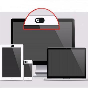 6 Pack Ultra Thin WebCam Cover Shutter Magnet Slider Camera Cover for Macbook Pro Laptops Phone Lens Web Cam Privacy Sticker 2