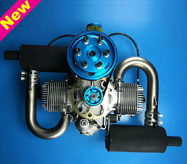 US $2285 9 |DLE200 DLE 200CC Gasoline Engine for Paramotor ( Premium  Muffler Version)-in Parts & Accessories from Toys & Hobbies on  Aliexpress com |