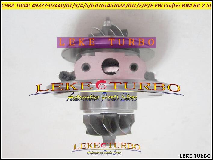 Turbo Cartridge CHRA TD04 49377-07405 49377-07403 076145701B 076145701R 076145701M For Volkswagen VW Crafter BJM BJL R5 LT3 2.5L turbo turbovharger gt1749v 724930 720855 turbolader core cartridge for volkswagen touran 2 0 td 103kw turbo chra kit 03g253014hx