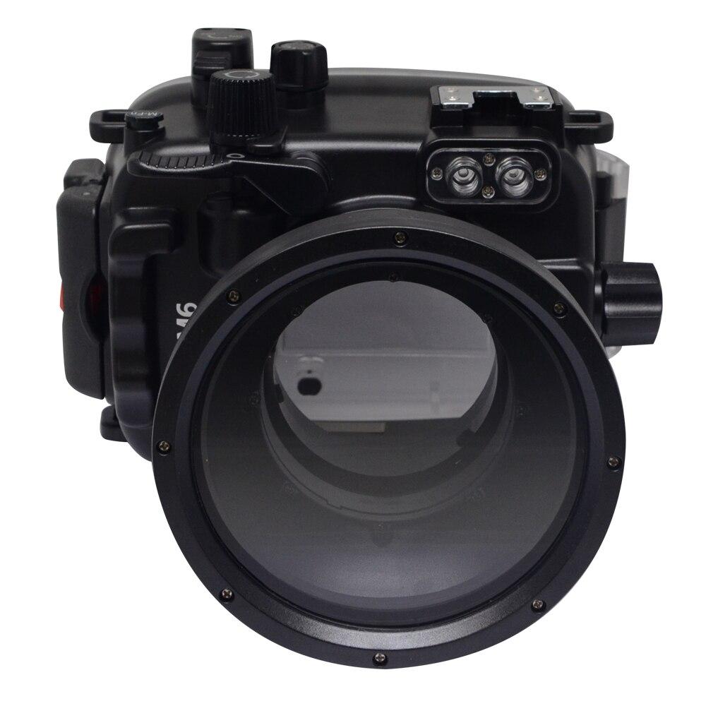 Mcoplus Canon M6 40 m/130ft caisson étanche boîtier de plongée étanche sac pour appareil photo Canon EOS M6