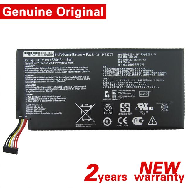 Original C11-ME370T 3.7 V 4325 mAh 16Wh Batería Para Asus Google Nexus 7 ª Generación 8 GB/16 GB/32 GB Li-polímero PAQUETE de Tablet PC