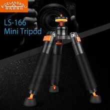 Qzsd sidelangboli SL 166 다기능 미니 탁상용 삼각대 데스크탑 유연한 휴대용베이스 dslr 비디오 모노 포드 브래킷지지