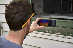 Image 5 - FLIR ONE PRO LT Cámara de imagen térmica, dispositivo de visión nocturna con visión infrarroja, 80x60 píxeles, para iOS o tipo C