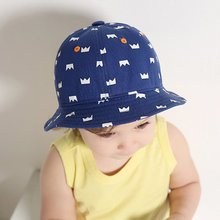 Baby Children Girls Boys Sun Hat Little Boys Sun Caps Cotton Outdoor Beach Bucket Caps JL445