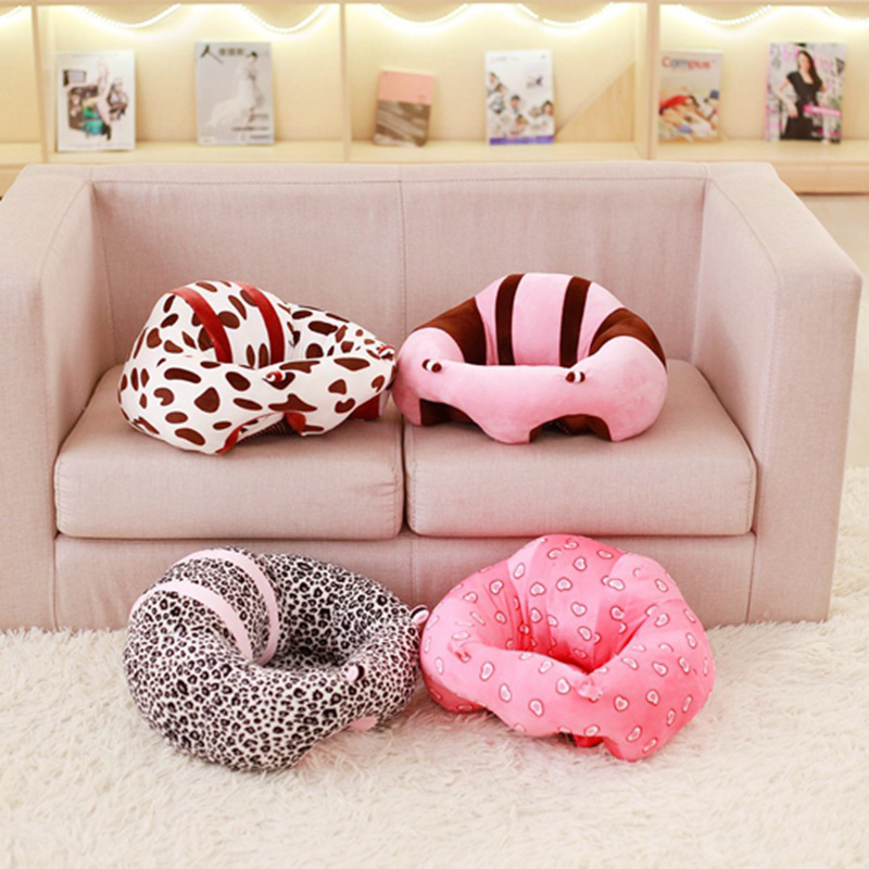 Image 3 - baby Infant Kids Children multifunction Travel Sitting soft Protective Pillow Floor Cushion Sofa feeding dining Seat Chair-in Children Sofas from Furniture