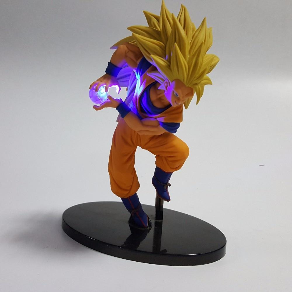 Dragon Ball Z Led Light Son Goku Kamehameha 150mm Anime Dragon Ball - Φωτιστικό νύχτας - Φωτογραφία 3