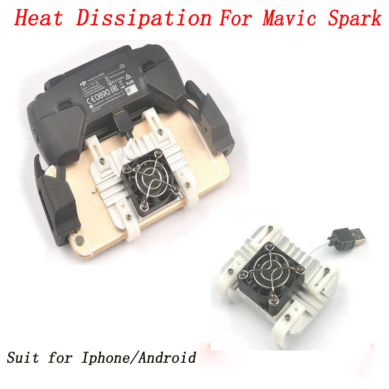 New Arrival Smartphone Heat Dissipation System for DJI MAVIC SPARK Suitable for Iphone Android Smartphone