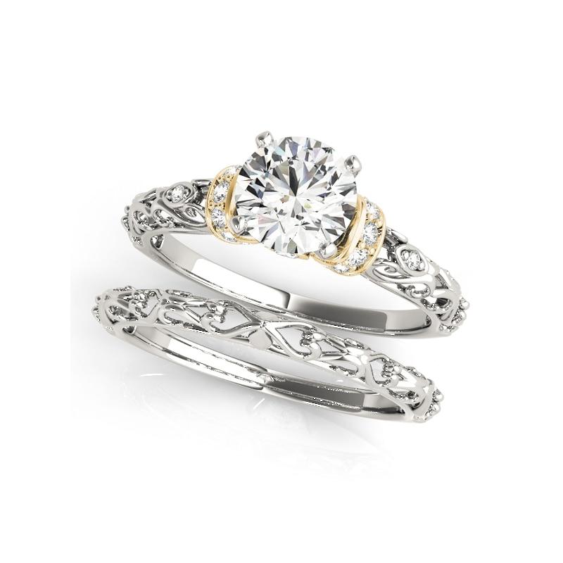 5.8 CT STERLING SILVER ASSCHER CUT CZ BRIDAL ANNIVERSARY ENGAGEMENT WEDDING RING