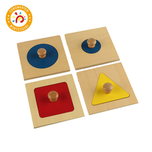 Children Montessori Puzzles Jigsaw Wooden Math Toys Teaching Aids Preschool Children Sensory Educational 3d Puzzle Kids LT005 kids wooden montessori material animals jigsaw puzzle educational toys for children wood tangram memory flag teaching aids