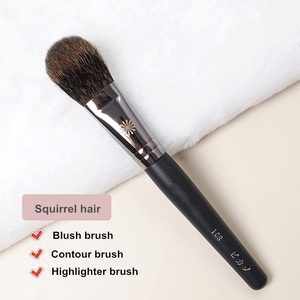 Румяна для макияжа, Кисть для макияжа #108, мягкая плотная кисть для контурирования волос в виде белки, корейская косметика