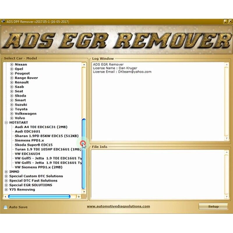 Professionale DPF+EGR REMOVER 3 0 Lambda Hotstart Flap,O2