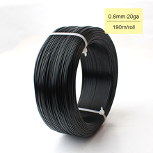 径0.8ミリメートル20ゲージ1/4キログラム黒シルバーゴールドグリーンコーヒーブルーアルマイトジュエリークラフトメイキングデッドソフトメタリックワイヤー