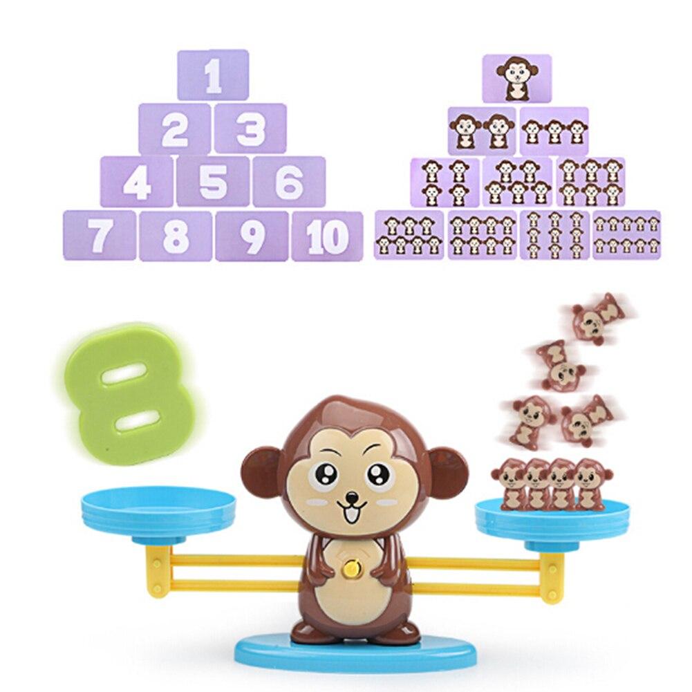 Escala De Equilibrio De Dibujos Animados Animal Juego De Matem/áticas Juguete Educativo para Ni/ños Aprendizaje De Equilibrio N/úmero De Juego De Juguete Ni/ños