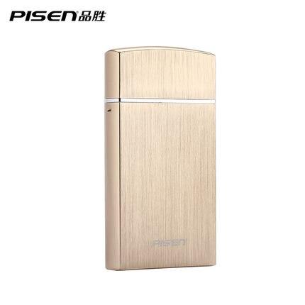 imágenes para PISEN Multifuncional máquina de Afeitar Eléctrica Sola Hoja Móvil Banco de la Energía 2000 mAh Cargador USB Portátil Para Teléfonos Azul Negro Oro